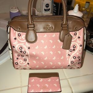 👜AUTHENTIC COACH PURSE AND WALLET😍